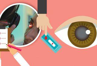 Relación cataratas y diabetes - Portada