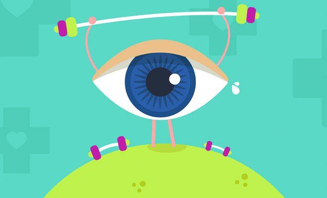 Ejercicios para salud visual -Portada