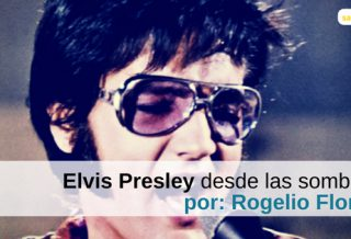 Elvis desde las sombras - Portada