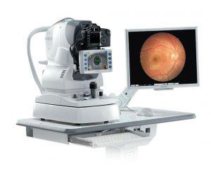 Aparato para telemedicina, consulta oftalmológica a distancia